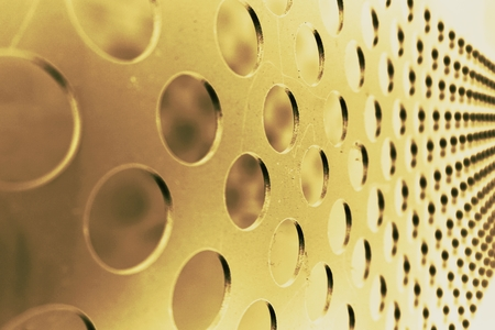 abstract of metal texture for background used Stock Photo
