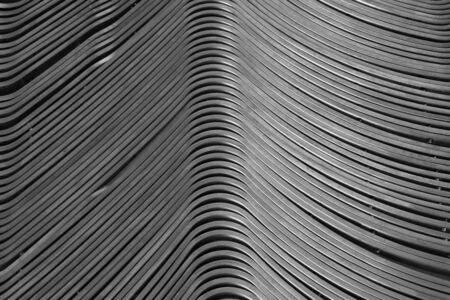 curve line: abstract of metal line curve texture for background used