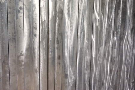aluminium wallpaper: abstract of metal line for background used Stock Photo