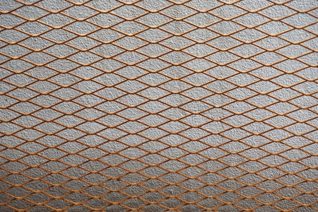 abstract of metal hexagon meshr texture for background used