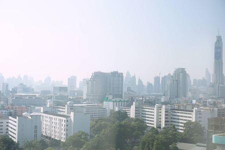 BANGKOK, THAILAND - October 26, 2017: view of the bangkok city October 26, 2017 in Bangkok, Thailand Editorial