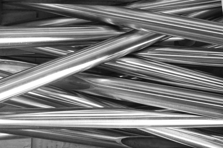 abstract of round metal tube for background used Фото со стока