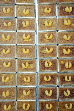 group of Mung Bean Thai Custard Dessert