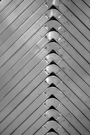 stack of angle metal texture in the factory