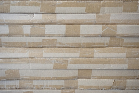stack of carton boxes ready for shipment in factory Фото со стока - 109014136