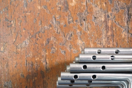 abstract group of spare part for background used