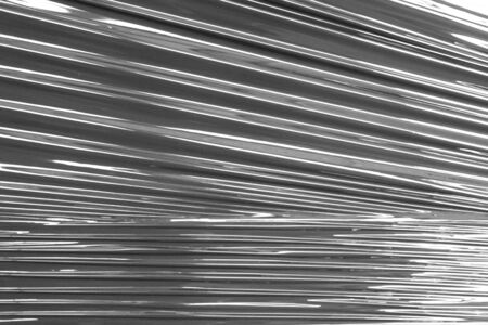 abstract of black plastic wrap texture for background used