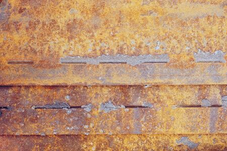 abstract of rust on iron for background used