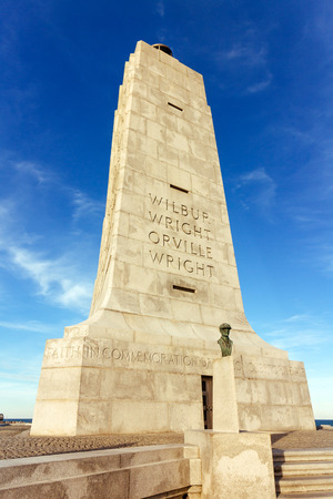 nc: Wright brothers memorial, NC, USA.