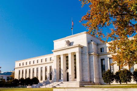 Federal reserve building, Washington DC. USA. Imagens - 42617117