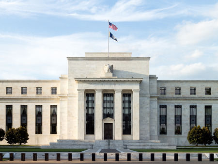 federal reserve: Federal reserve building, Washington DC. USA.