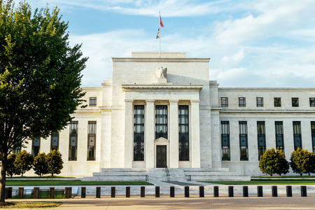Federal reserve building, Washington DC. USA. 免版税图像 - 42617307