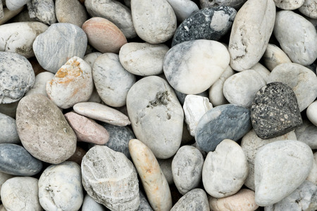 on smooth: Smooth pebble texture background. Stock Photo