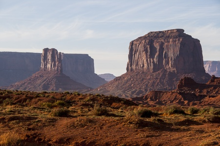 Monument Valley, scenic landmark from USA