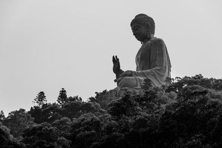 lantau: Tian Tan Buddha in Lantau island, Hong Kong