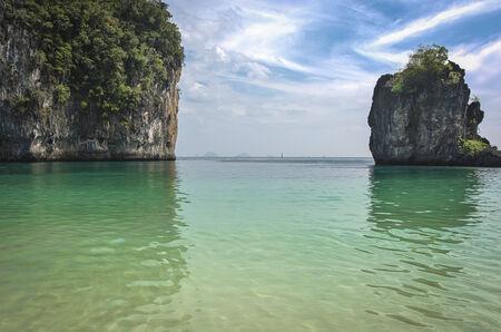 turistic: Andaman Sea beach in PhiPhi island, Turistic paraise in Thailand
