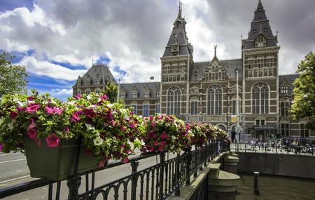 nederland: Rijksmuseum in Amsterdam, Nederland.