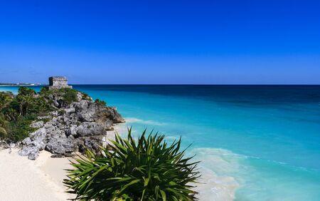 archipelago: Beautiful ocean coastline panorama in Ibiza island, part of Balearic archipelago in Spain.