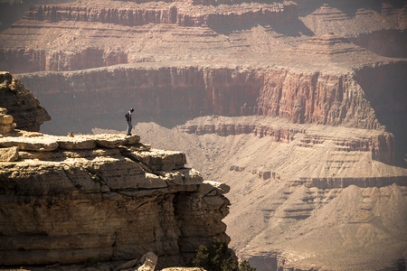 western usa: Great view on Grand Canyon, western USA