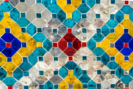 cian: Glass tiles, suitable for background  texture. Art decoration