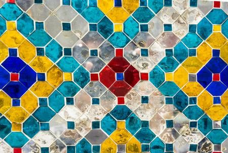 cian: Glass tiles, suitable for background  texture. Art decoration