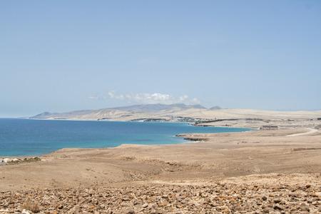 fuerteventura: Fuerteventura volcanic landscape, Canari islands of Spain.