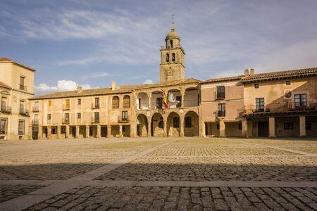 Ancient village of Medinaceli in Soria Standard-Bild