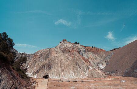 Cardona salt mine and mountain in Catalonia, Spain. Reklamní fotografie