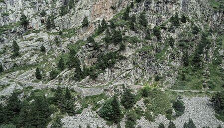 Ribes de Freser - Queralbs - Vall de Nuria Hiking Trail, Catalonia, Spain