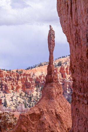 Thors Hammer in Bryce Canyon National Park, Utah, USA