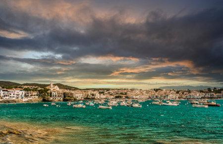 Beautiful village of cadaques in costa brava, catalonia, spain.