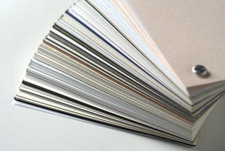 cardboard cutout: Campione di carta per la stampa