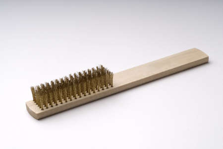 Brush for cleaning metal Stock Photo - 10711226