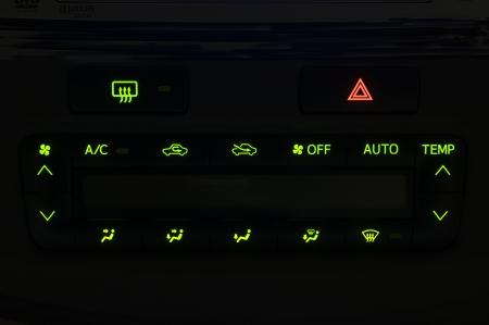 recirculate: Automobile air conditioner lighting, background