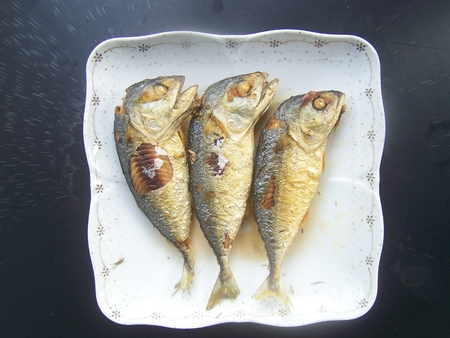 delicious simple with the mackerel fries , and give multiply by way eatables talling value photo