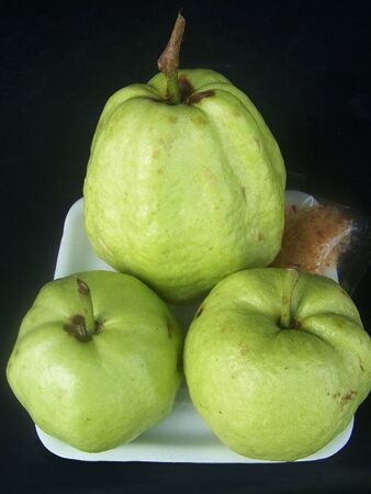 guava fruit: topmost fruit guava which is full of the advantage builds  the health Stock Photo