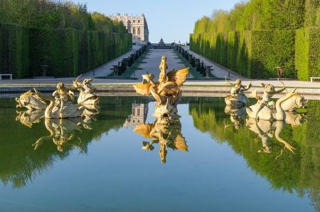 Fountain in the Garden of Versailles, France photo