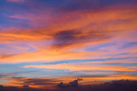 Beautiful twilight sky Stok Fotoğraf