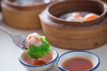 Traditional chinese food Dim Sum