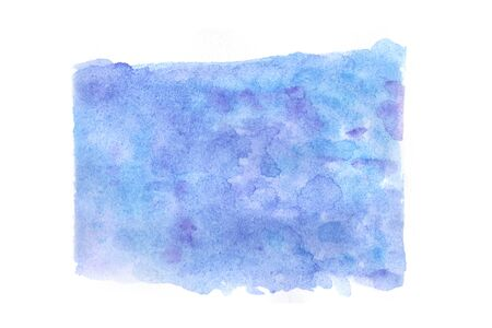Abstract  watercolor texture that splash on paper by hand painting on a white background.