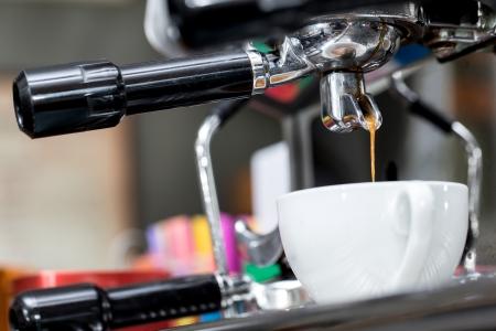 コーヒーの準備のプロセス