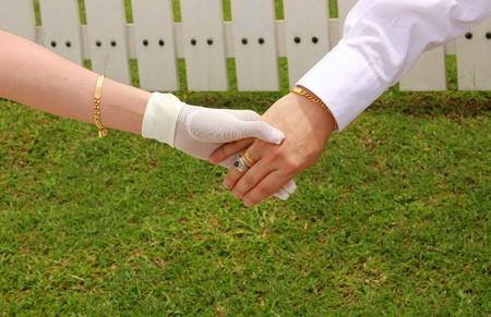 hand in hand photo