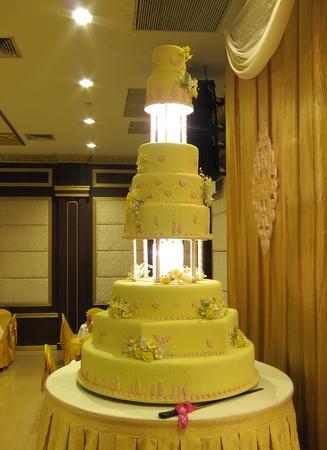 wedding feast: wedding cake
