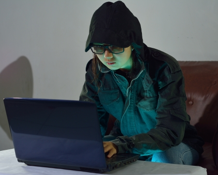 hacker Standard-Bild