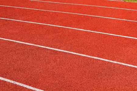 texture of the running track photo