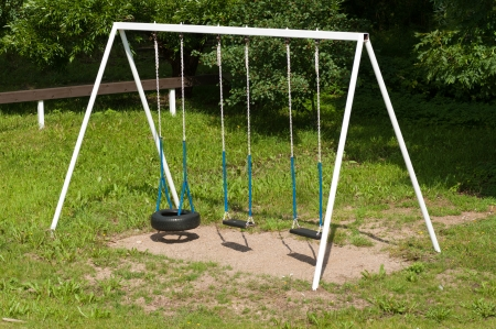 old empty swing photo