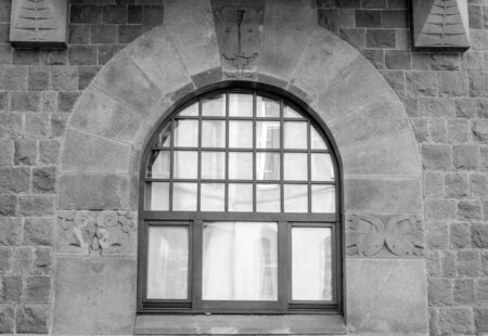 architectural element of the window decoration