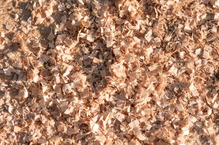 scobs: sawdust background