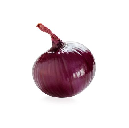 red onion isolated close-up Stock Photo