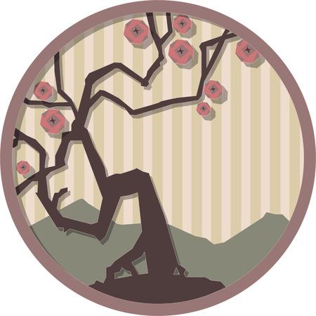 motif japonais illustration vectorielle
